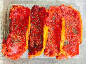 Apley chilli steaks