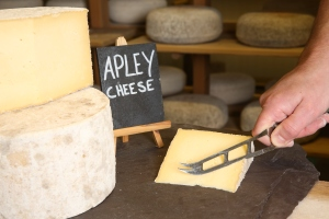 Mr Moyden's Apley cheese wins gold award