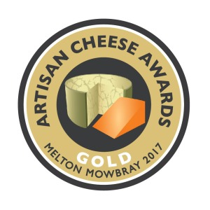 Artisan Cheese Awards, gold award for Mr Moyden's Apley Cheshire Cheese
