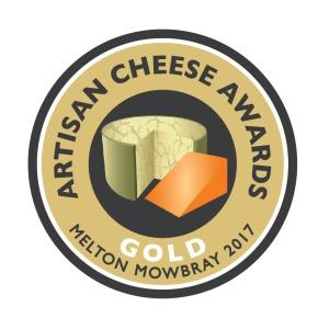 Artisan Cheese Awards, gold award for Mr Moyden's Apley Cheshire Cheese