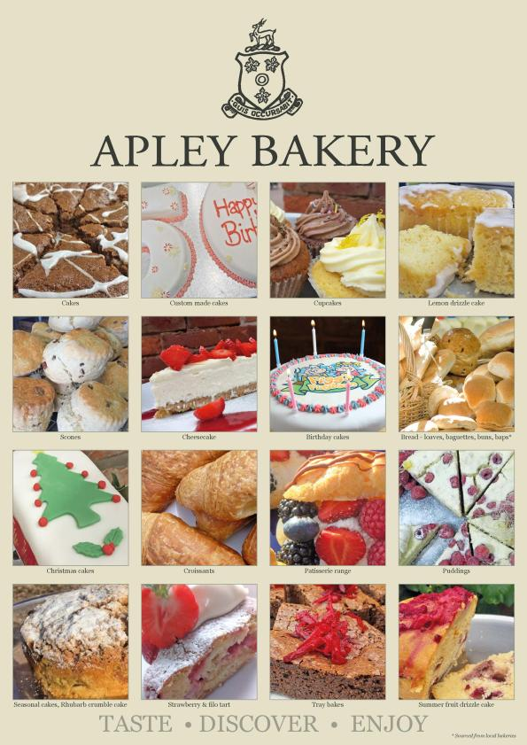 Apley Bakery photos poster