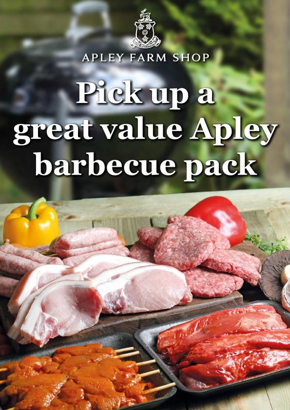 AFS barbecue BBQ A1 poster