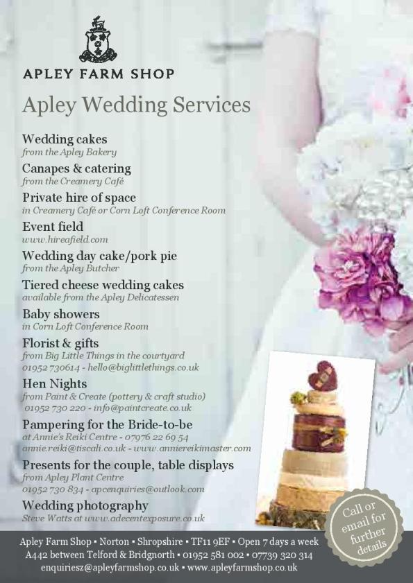 AFS - Wedding Service Leaflet JPEG