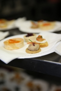 Canapes before Question Time