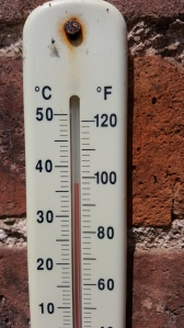 Thermometer in AWG
