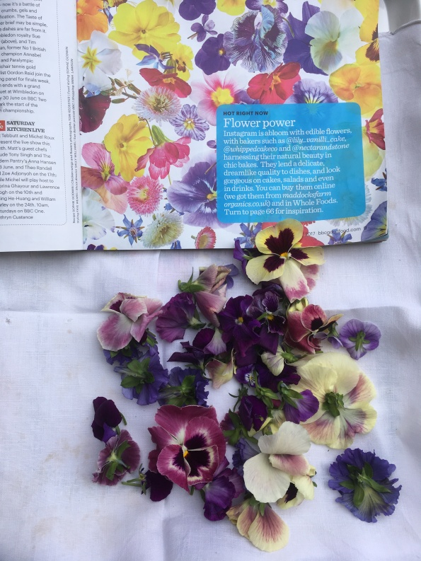 Edible flowers from AWG