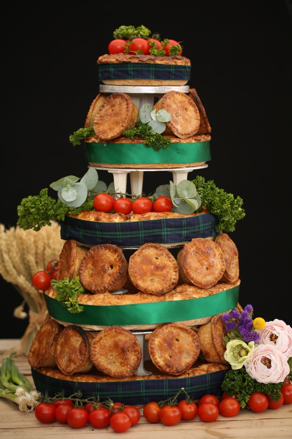 Pork Pie Wedding Cakes From The Apley Butchery