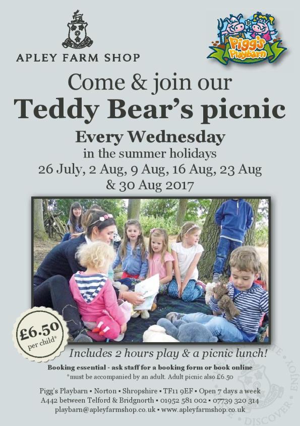 Teddy Bears' Picnic leaflet