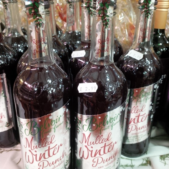 Mulled winter punch £2.99