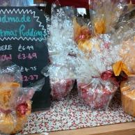 Christmas puddings offer £3.49 & £2.37