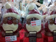 Chocolate Santas now £6.99